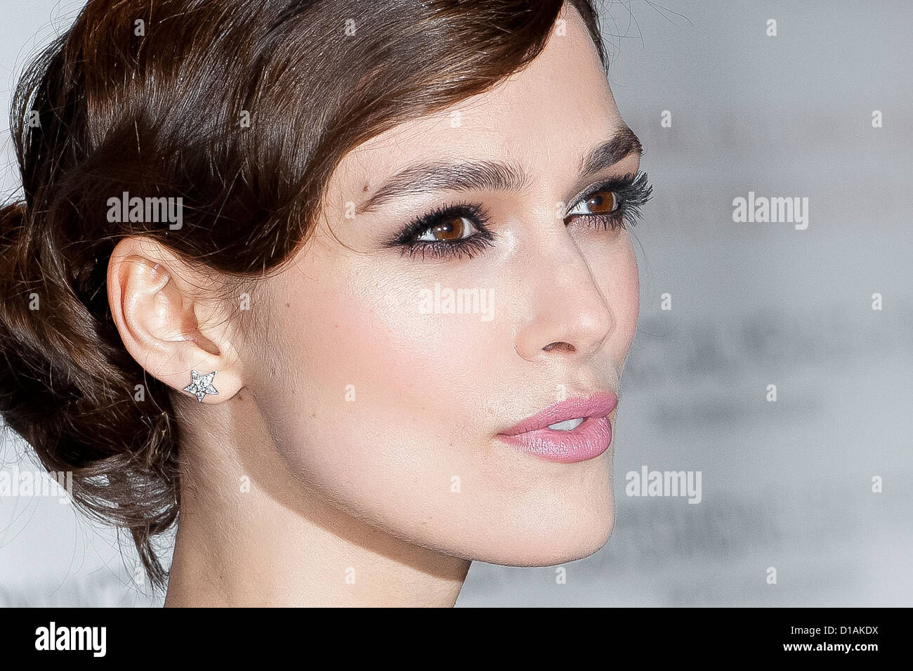 British actress, Keira Knightley, arrives for the gala screening of A Dangerous Method. - Stock Image
