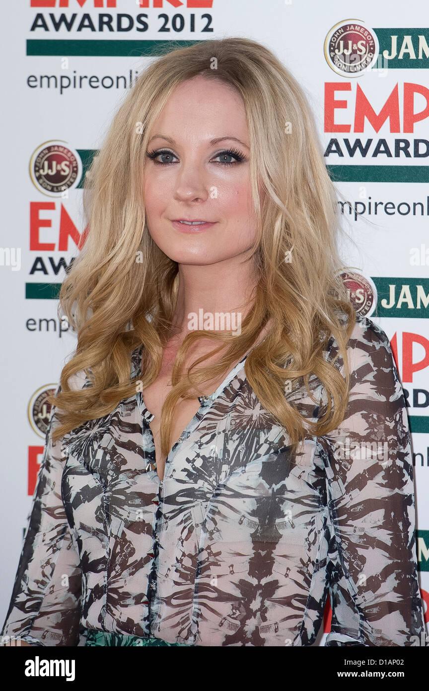 Joanne Froggatt arrives for the Jameson Empire Awards. - Stock Image