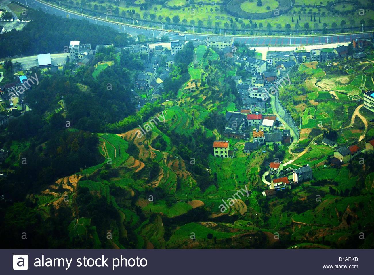 Bird's-eye View Of Beautiful Scenery Around Three Gorges