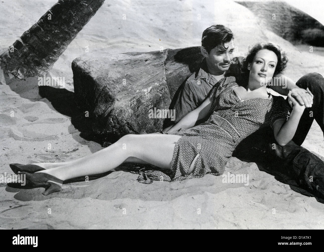 STRANGE CARGO 1940 MGM film with Clark Gable and Joan Crawford - Stock Image