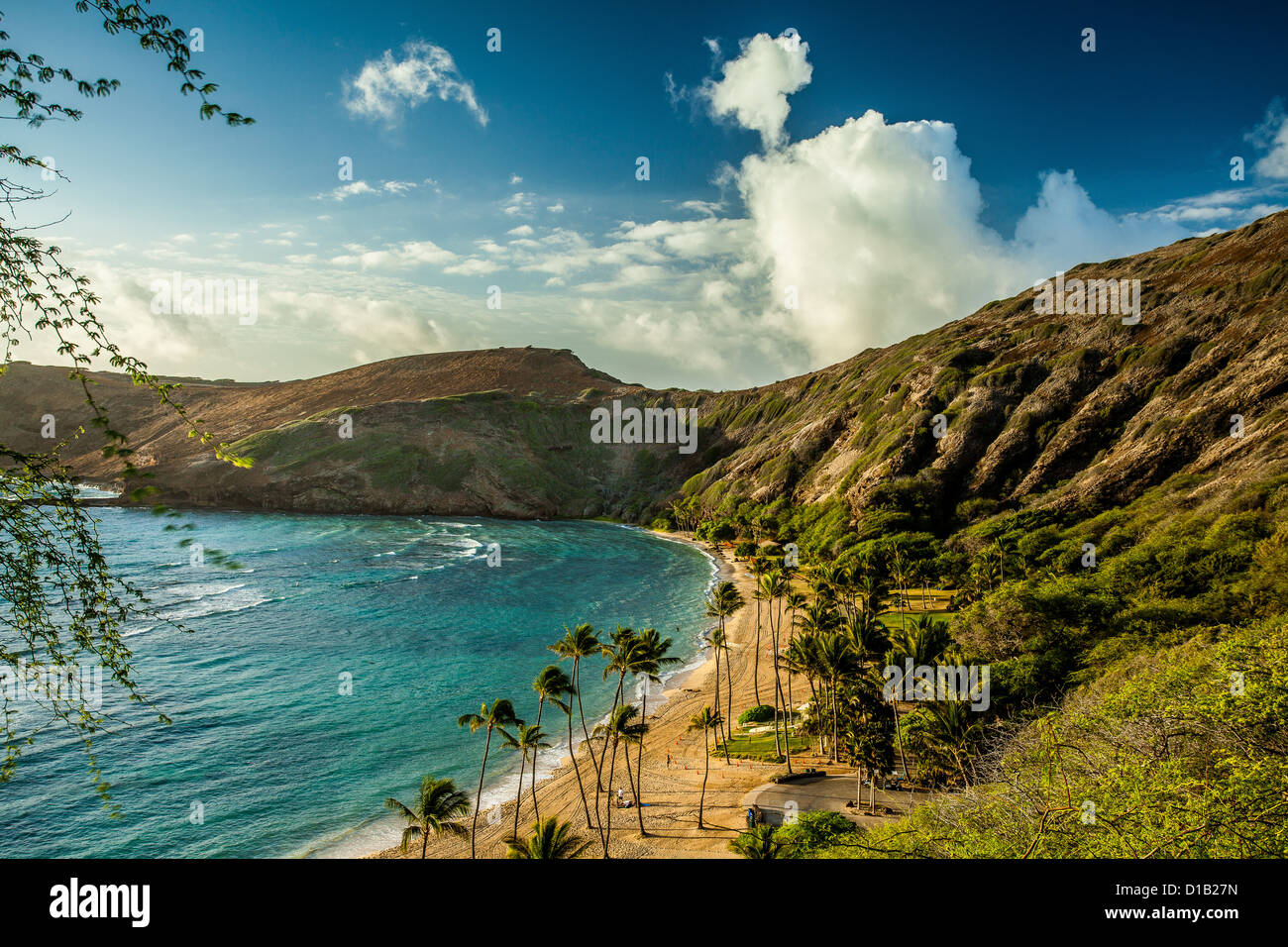 Hanauma Bay Hawaii Oahu Scenic Hawaiian Landscape Honolulu Ocean