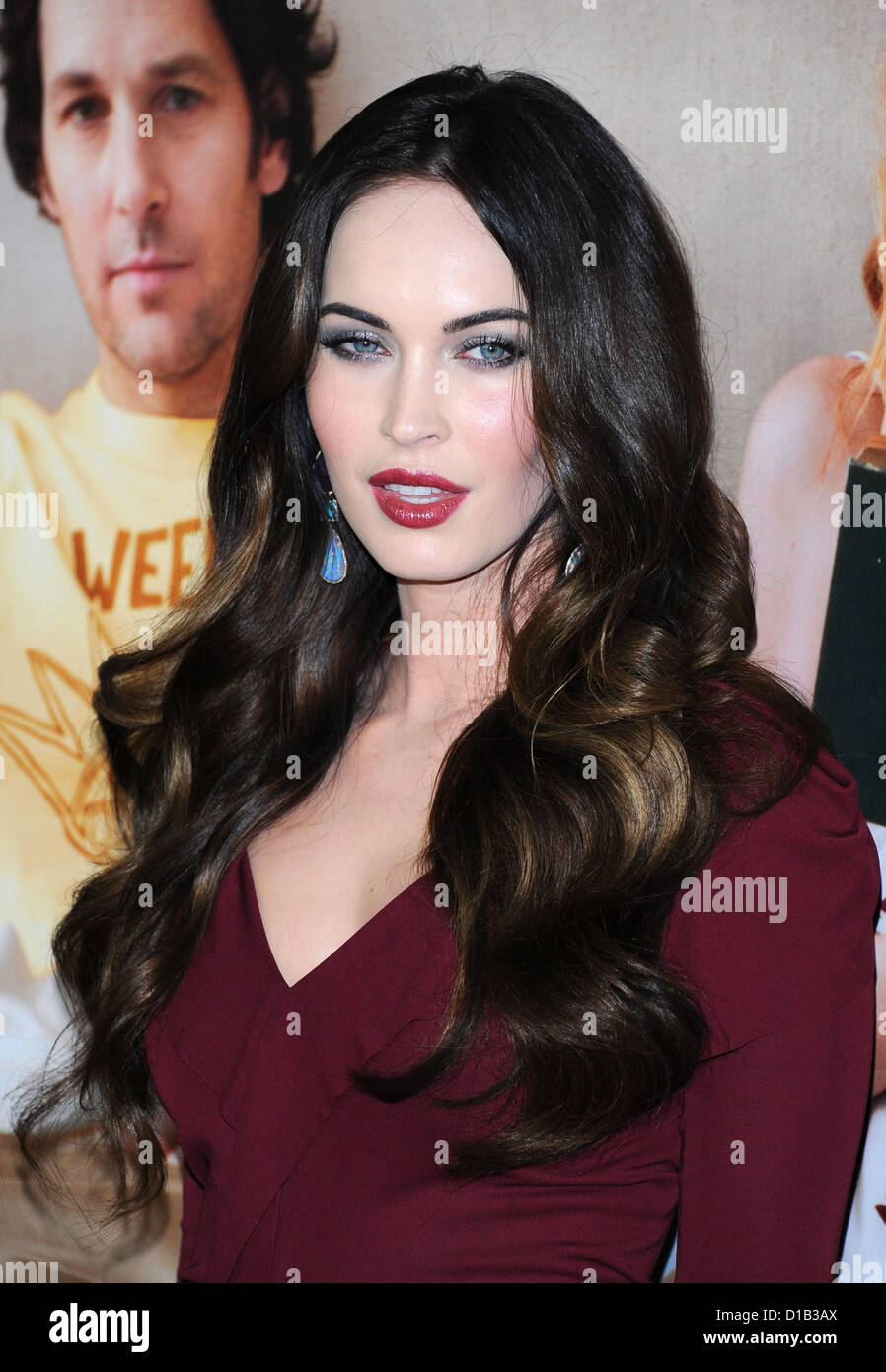 Hollywood, California, USA. 12th December 2012. Megan Fox arriving at the Los Angeles film premiere of 'This - Stock Image