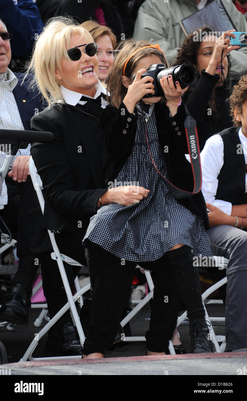 Hollywood, USA. 13th December 2012. Deborra-Lee Furness attending husband Hugh Jackman's star ceremony on the - Stock Image
