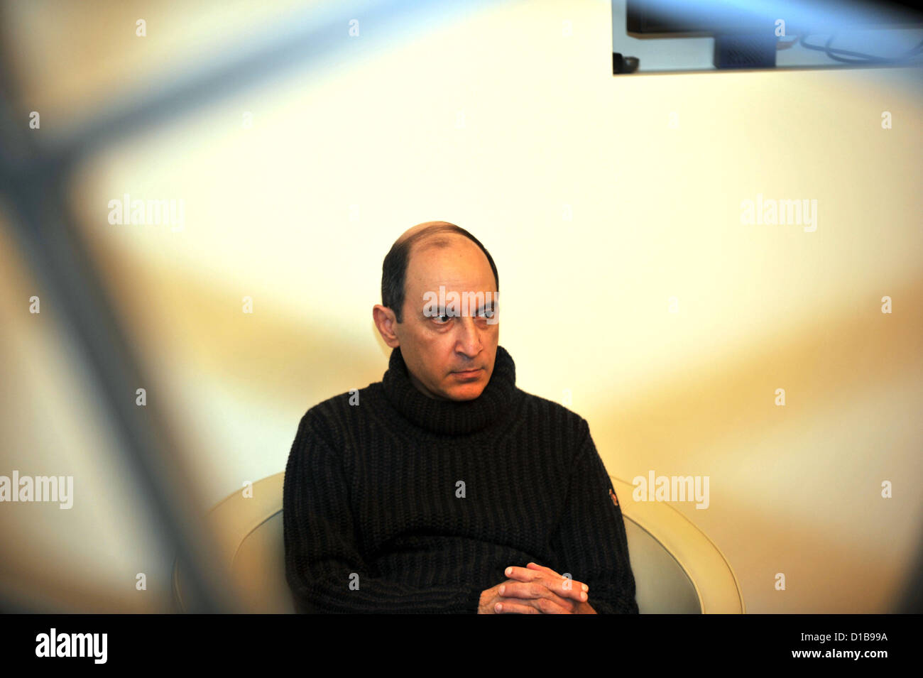 Akbar Al Baker CEO of Qatar Airways - Stock Image