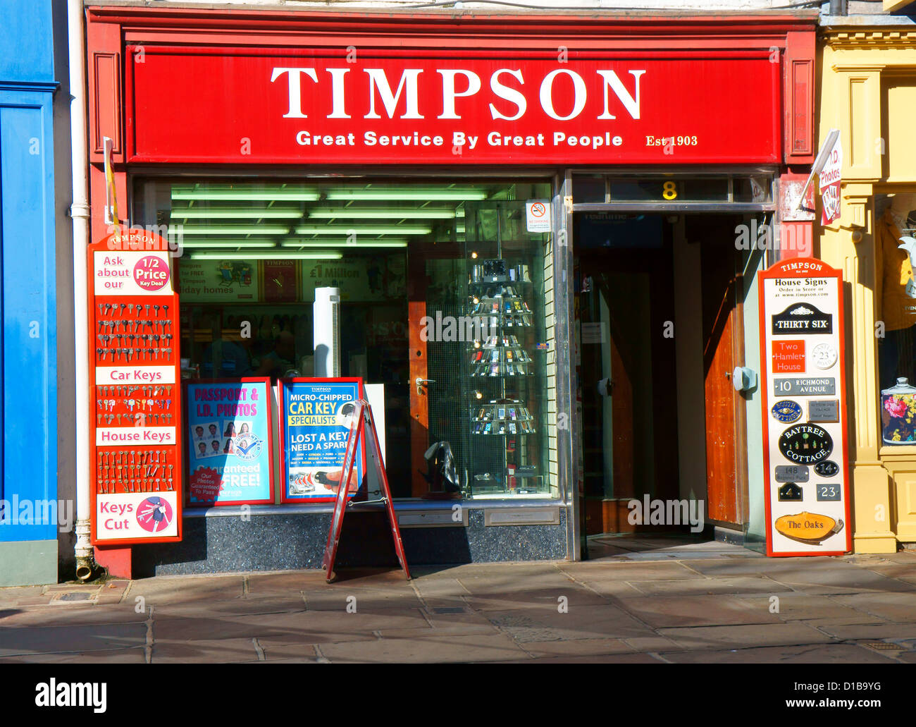 Timpsons Stock Photos Amp Timpsons Stock Images Alamy