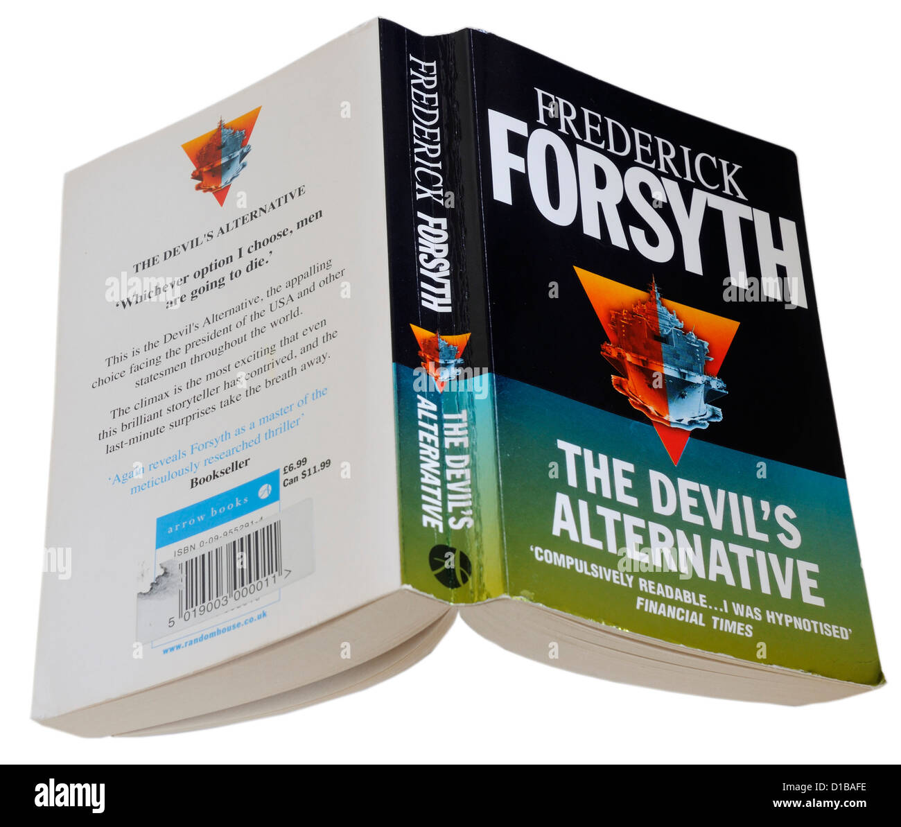 The Devils Alternative by Frederick Forsyth - Stock Image
