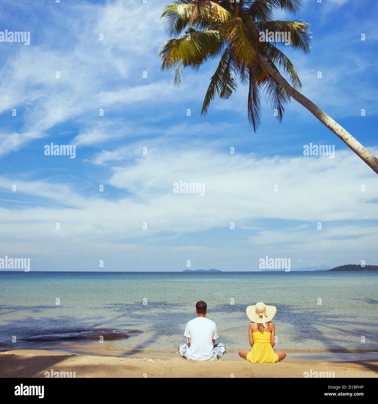summer vacations - Stock Image