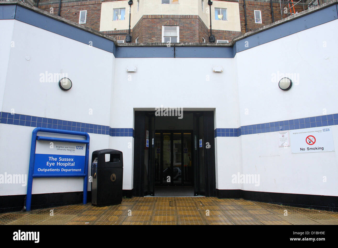 The Sussex Eye Hospital, on the Royal Sussex County Hospital campus in Brighton East Sussex UK - Stock Image