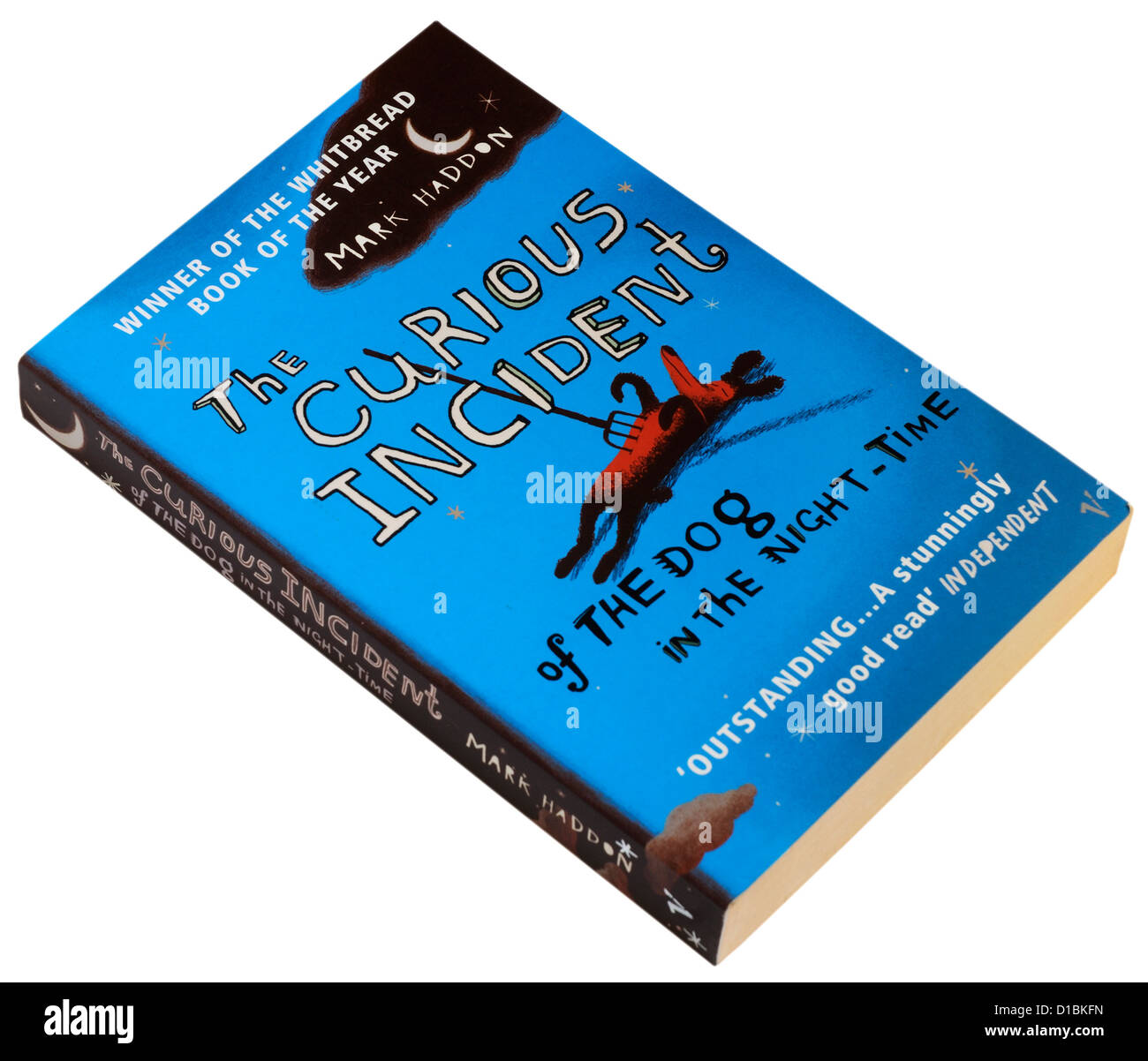 The Curious Incident of the Dog in the Night Time by Mark Haddon - Stock Image