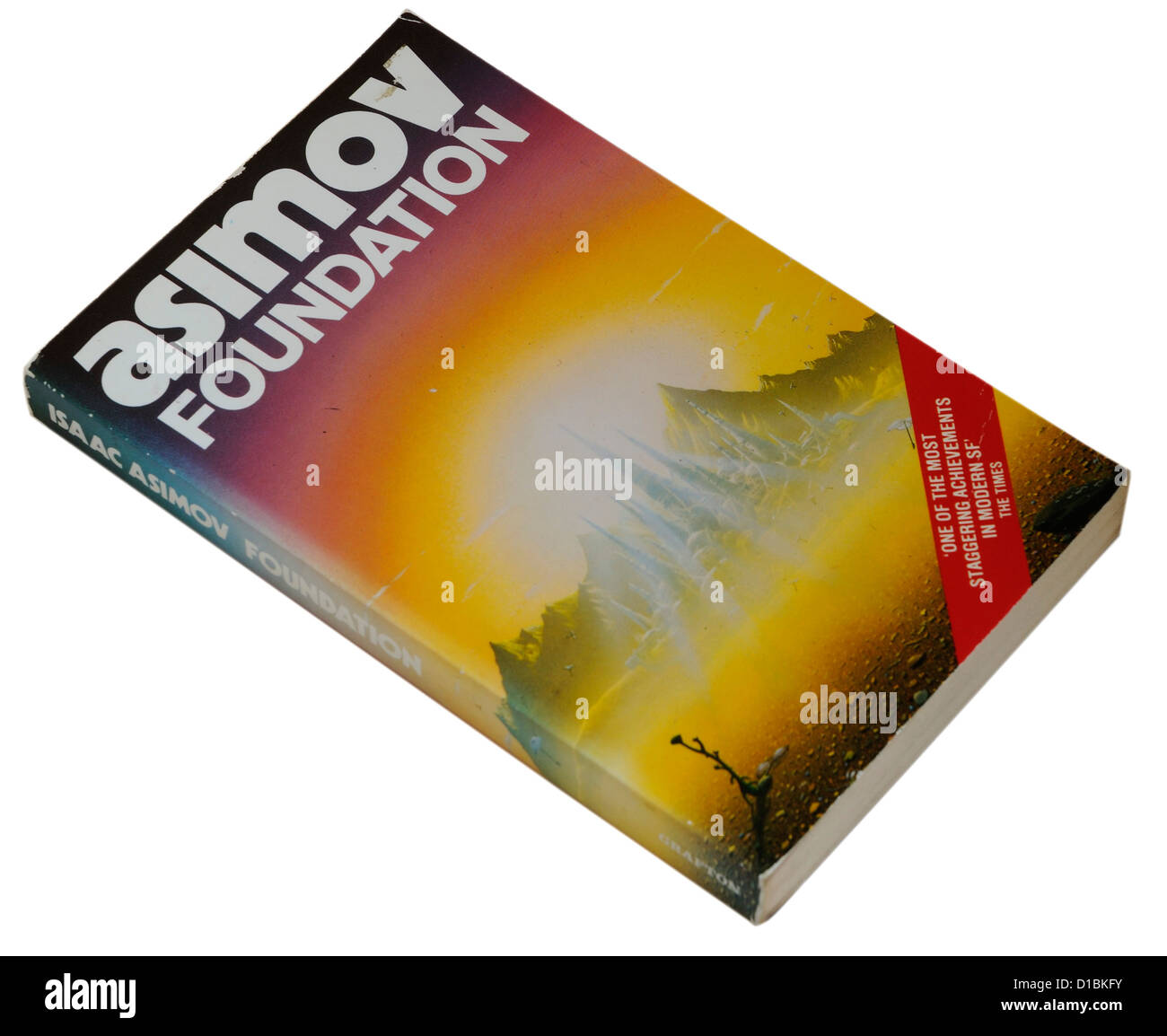 Foundation by Isaac Asimov - Stock Image