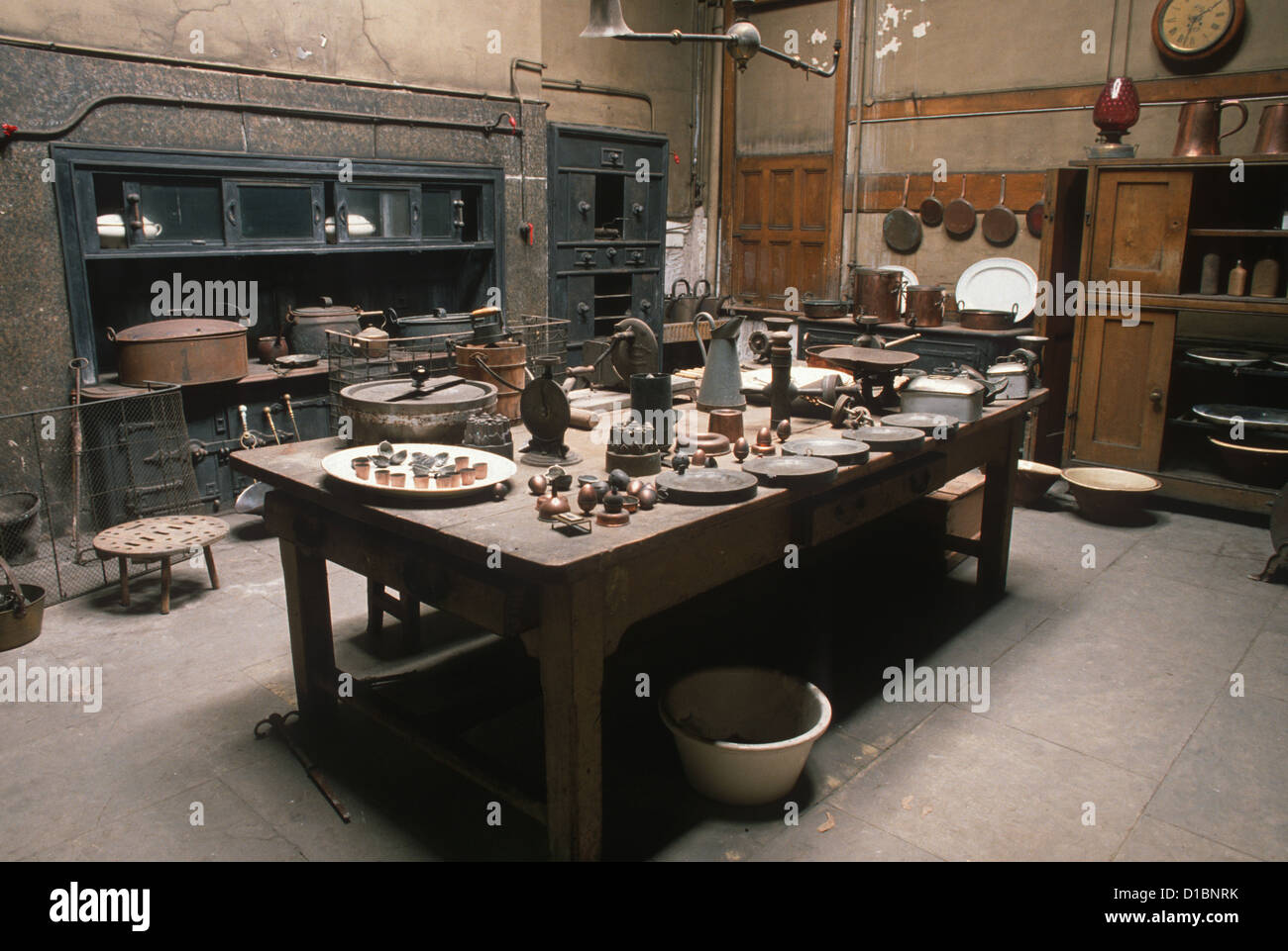 Victorian Scullery High Resolution Stock Photography And Images Alamy