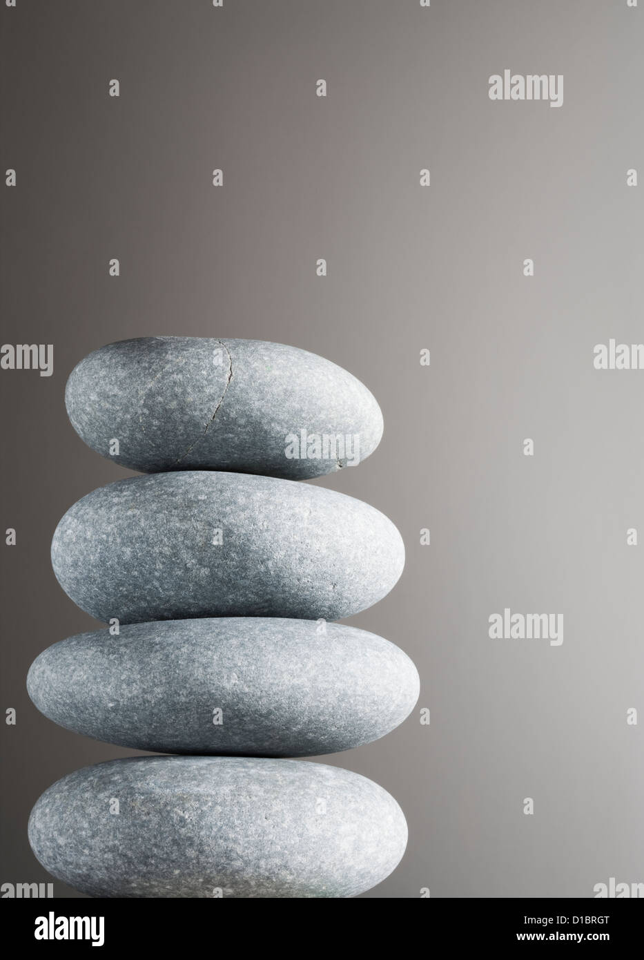Pile of pebbles. - Stock Image