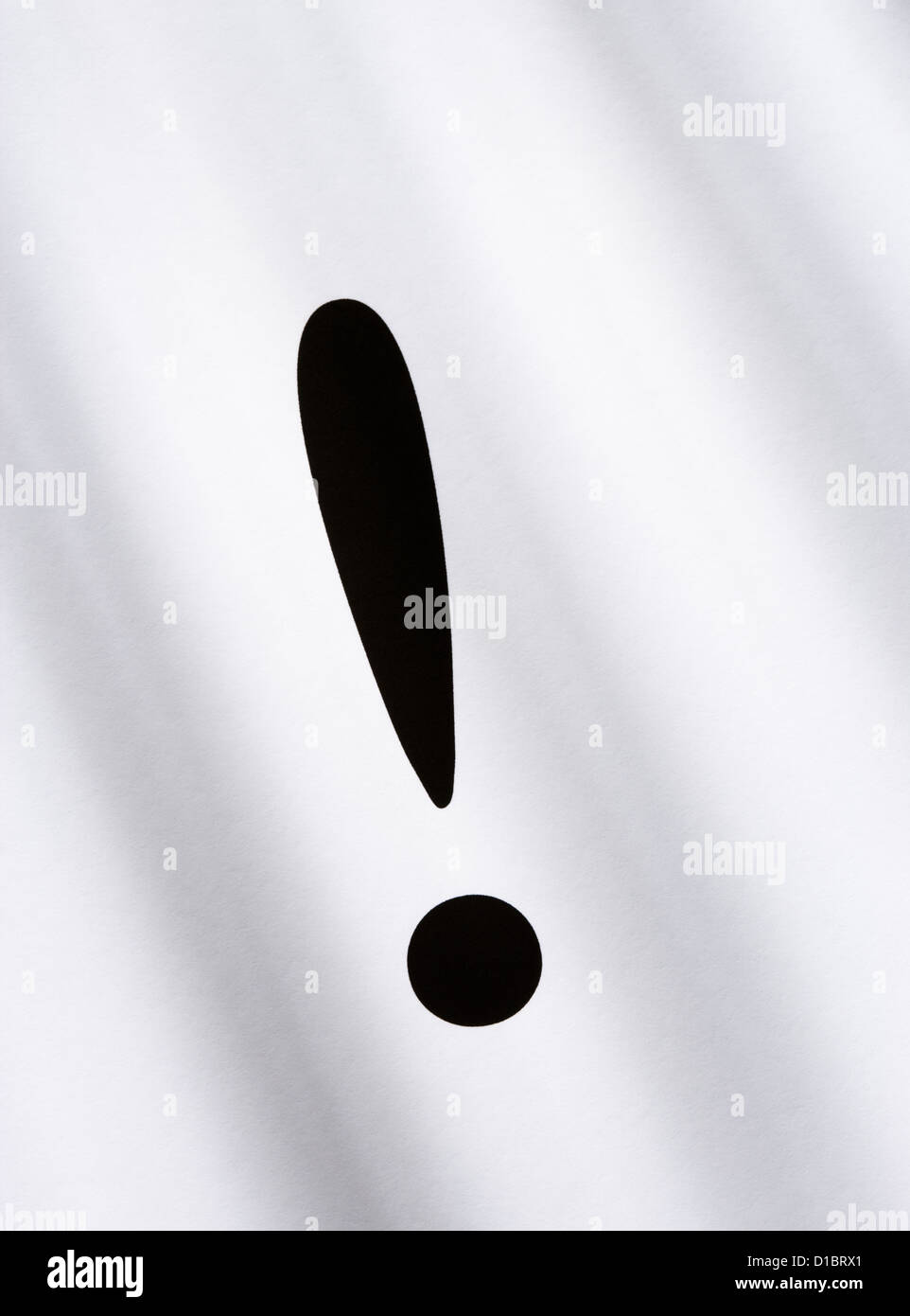 Exclamation mark. - Stock Image