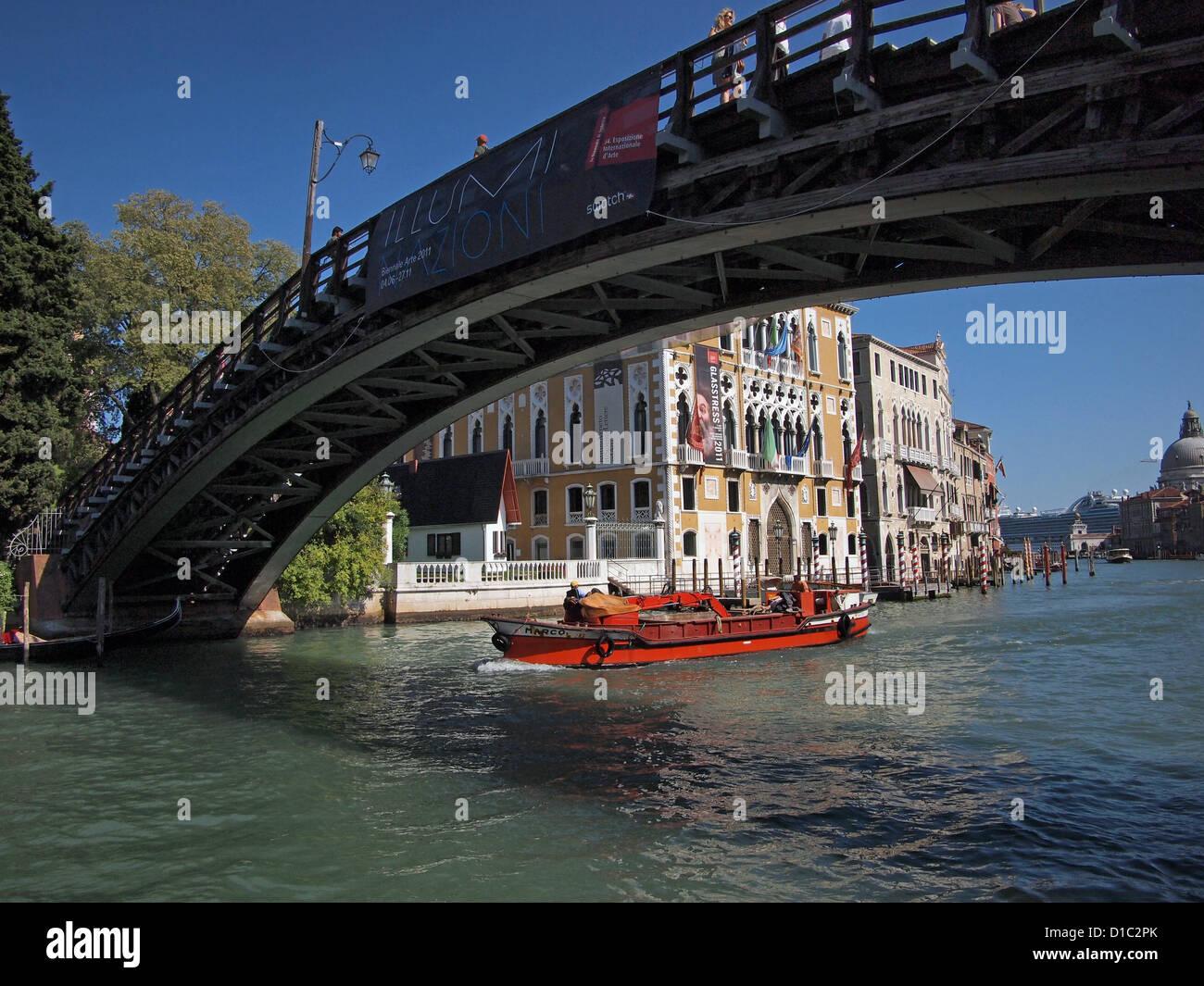 Venice - Ponte Dell Academia - Stock Image