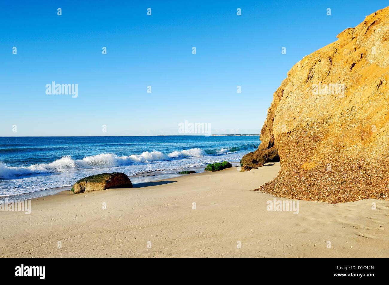 Lucy Vincent Beach, Chilmark, Martha's Vineyard, Massachusetts, USA - Stock Image