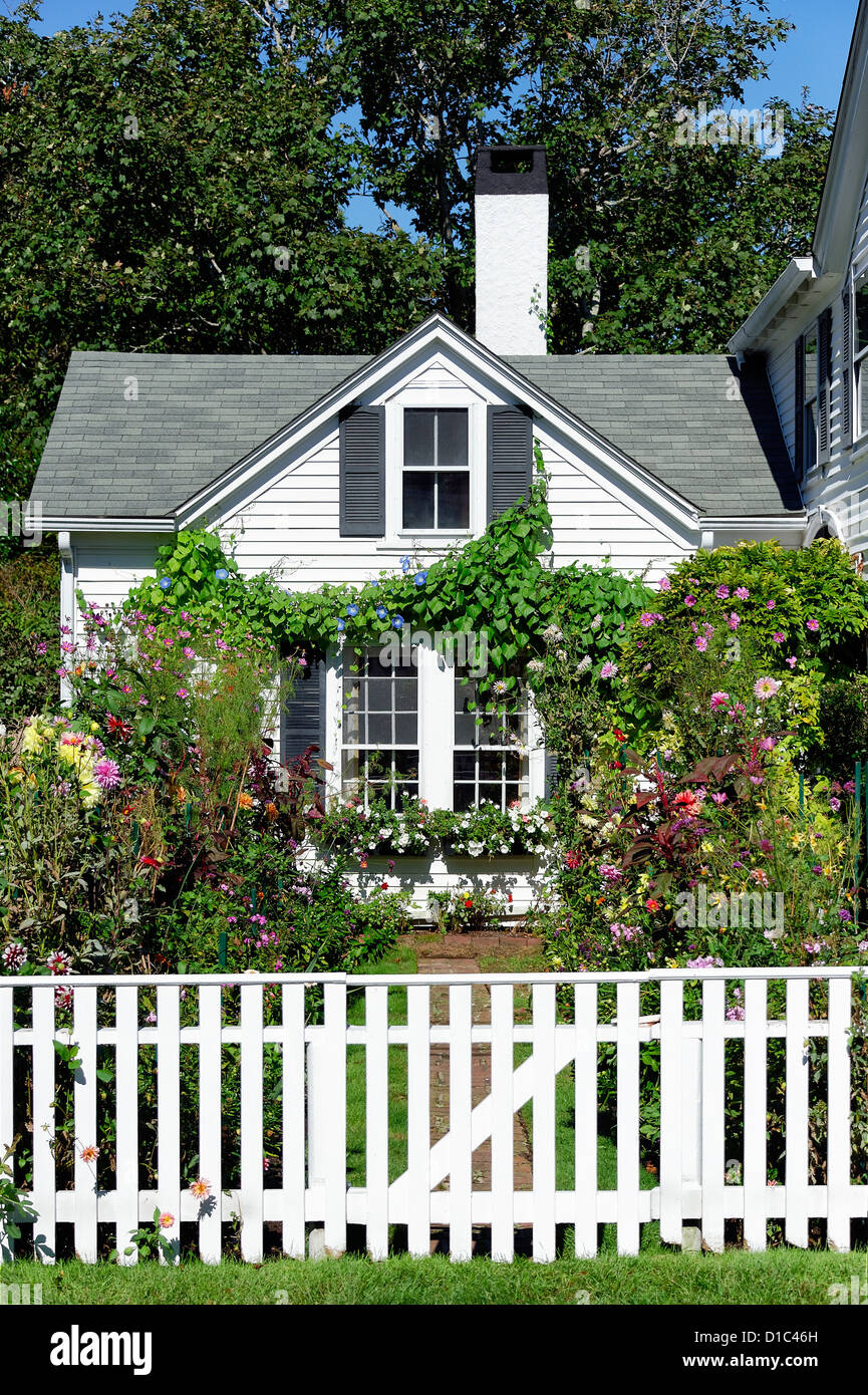 Emily Post House And Garden, Edgartown, Massachusetts, USA