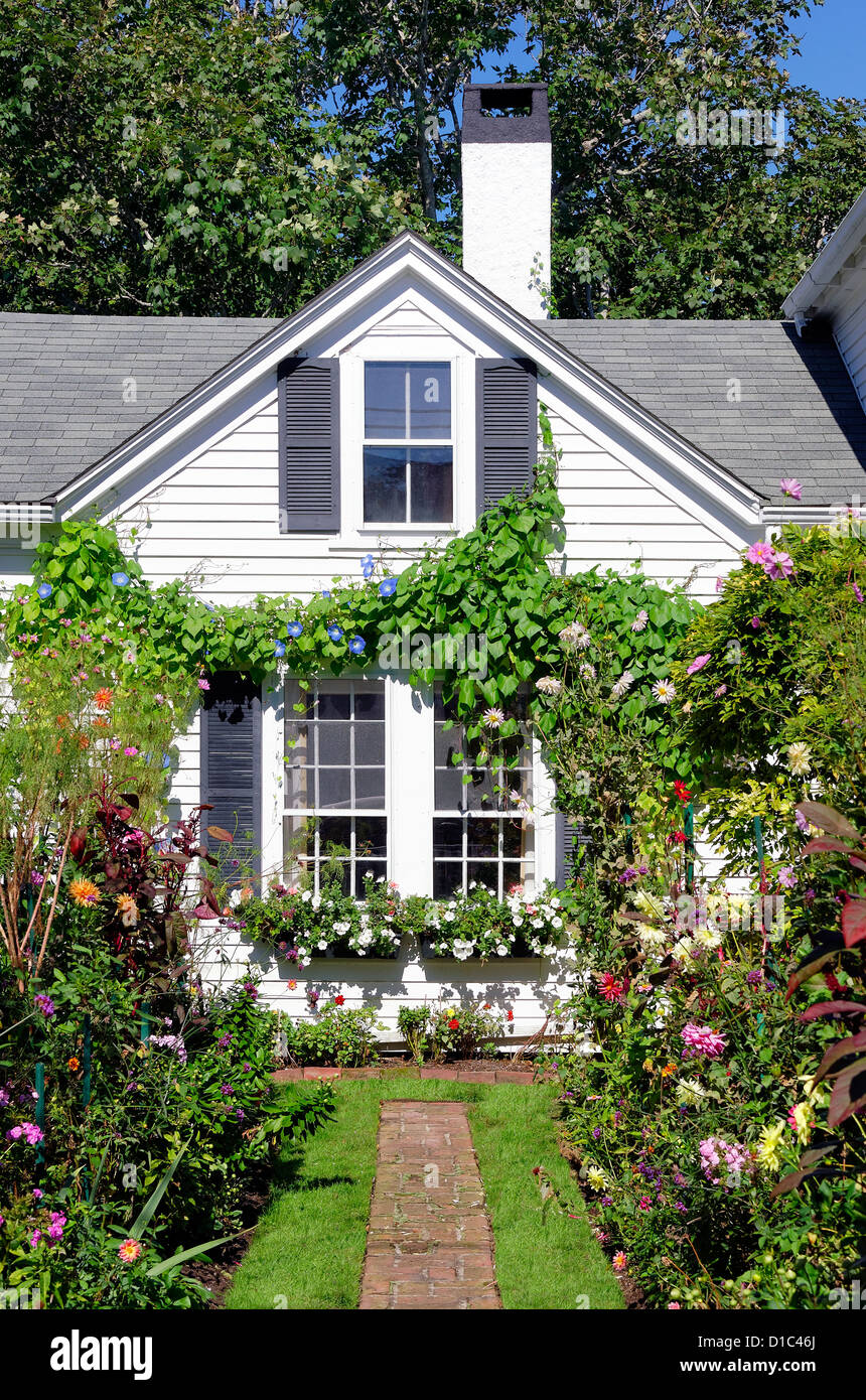 Charming Emily Post House And Garden, Edgartown, Marthau0027s Vineyard, Massachusetts,  USA