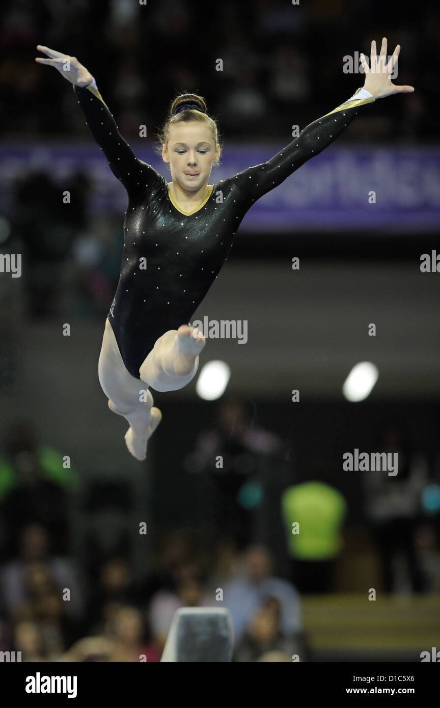 Glasgow World Cup. Emirates Stadium Glasgow. Rebecca TUNNEY GBR .Photo by Alan Edwards - Stock Image