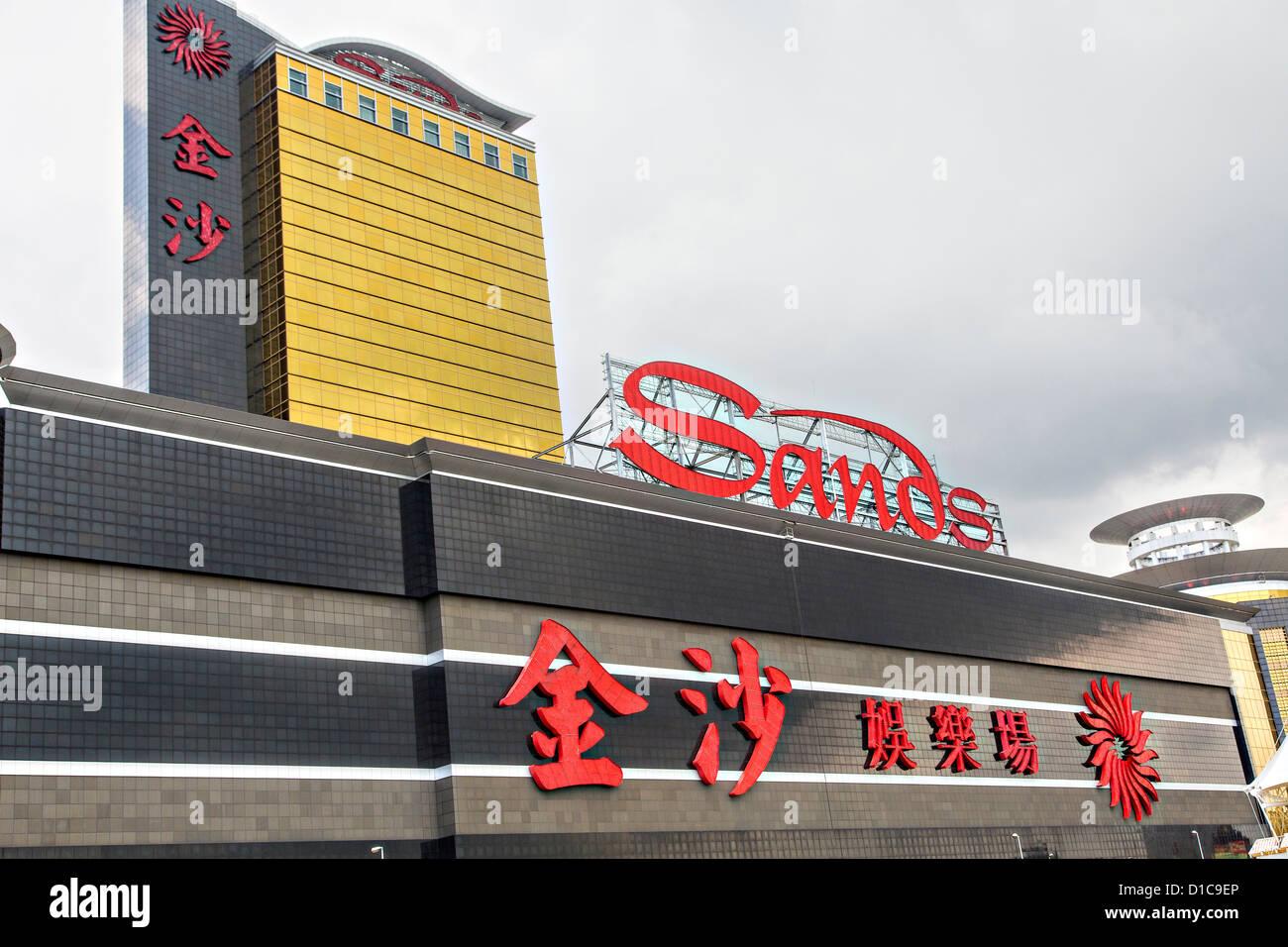 Sands casino macau stock fort hall casino directions