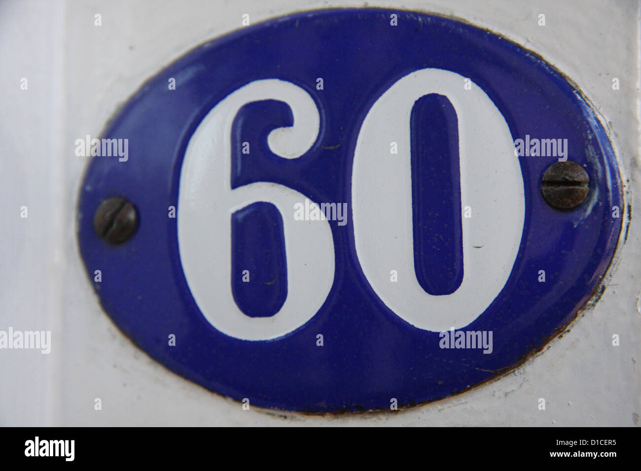 Number 60 - Stock Image