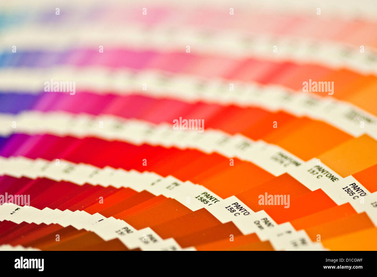 Pantone color swatchbook Stock Photo: 52522443 - Alamy