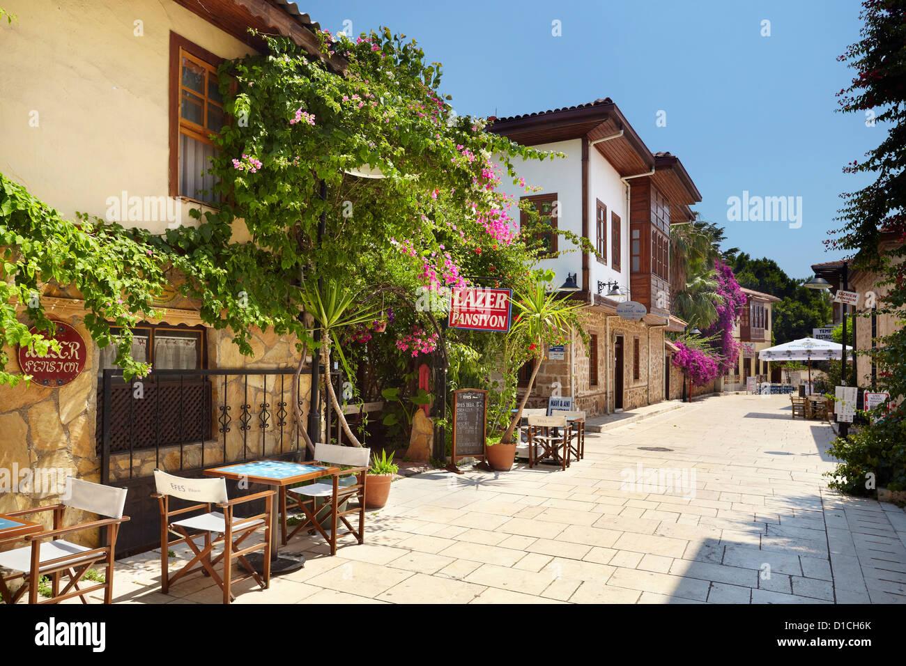 Kaleici Old Town, Antalya, Turkey - Stock Image
