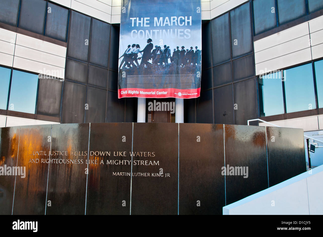 Civil Rights Memorial ,Southern Poverty Law Center, Montgomry, Alabama, USA - Stock Image