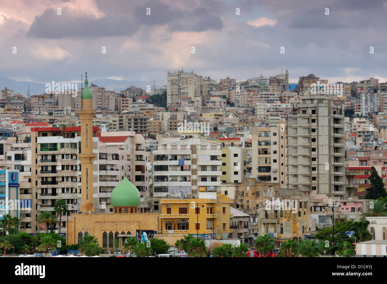 Sida, Sidon South Lebanon - Stock Image