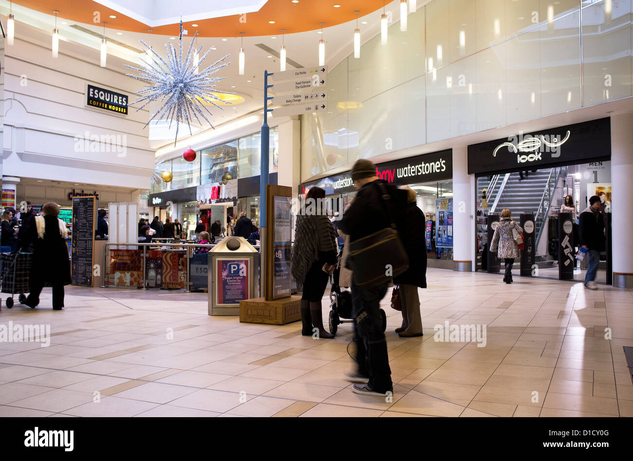 Eastgate Mall Car Park Entrance