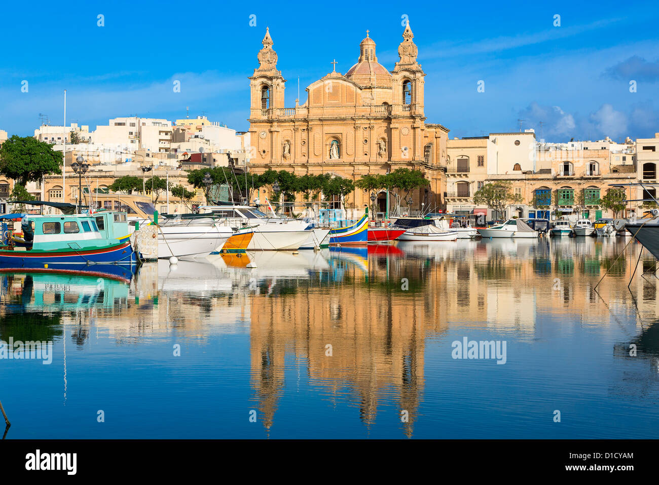 Msida, St Joseph's Church Stock Photo