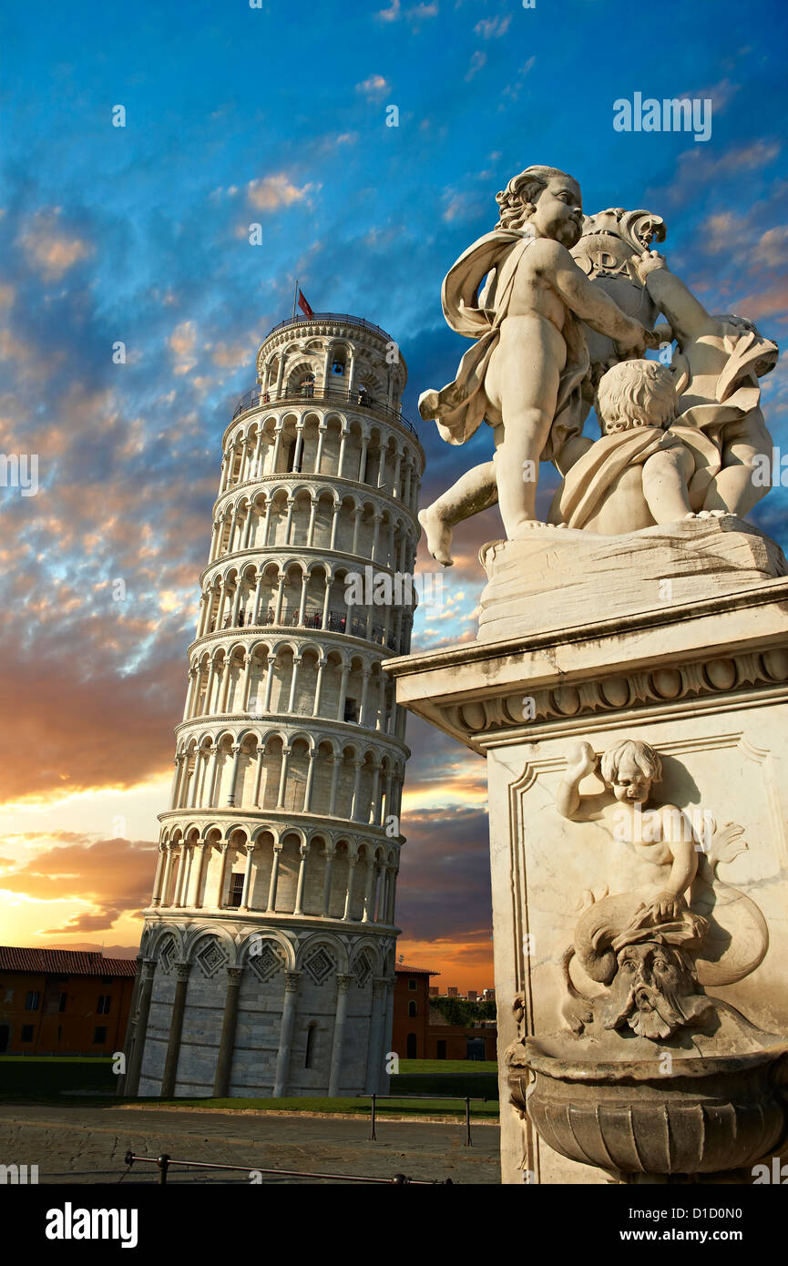 The Leaning Tower Of Pisa, Italy - Stock Image