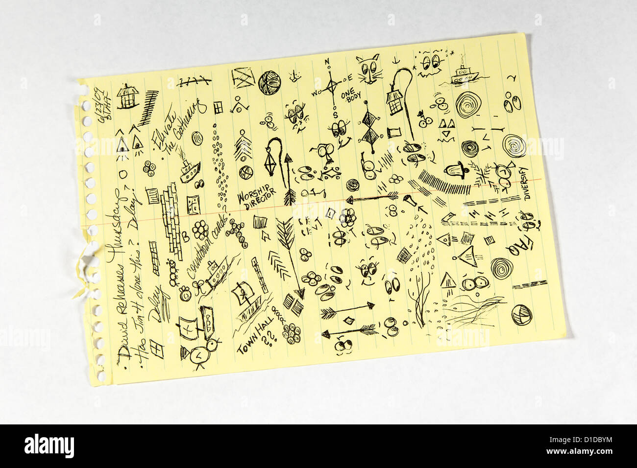 scribble pad stock photos scribble pad stock images alamy
