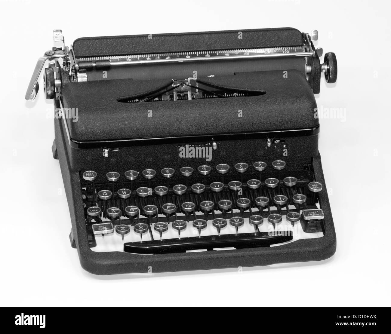 antique typewriter - Stock Image