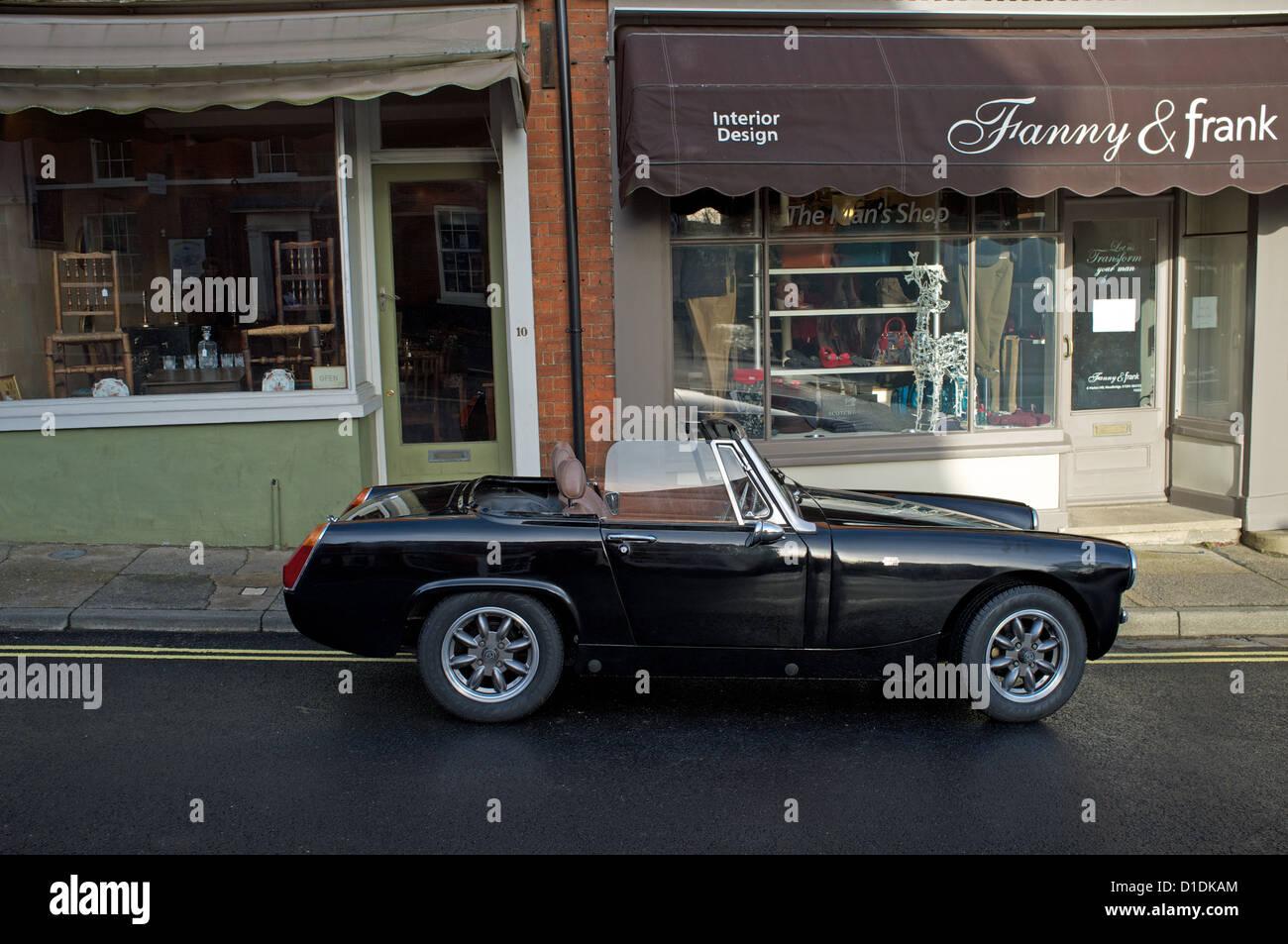 Vintage Mg Car 3