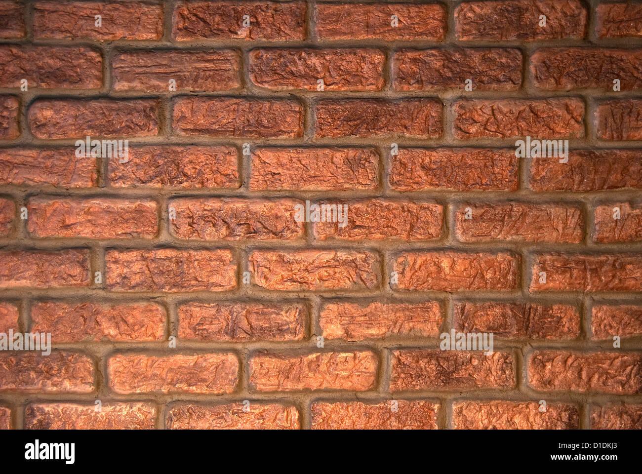 Muro de ladrillo caravista stock photo 52546539 alamy - Ladrillo visto precio ...