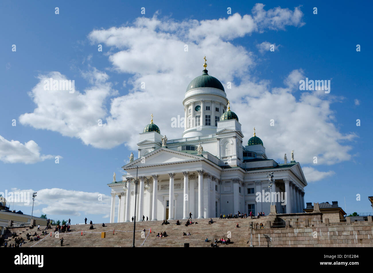 Lutheran Cathedral, Helsinki, Finland, Scandinavia, Europe - Stock Image