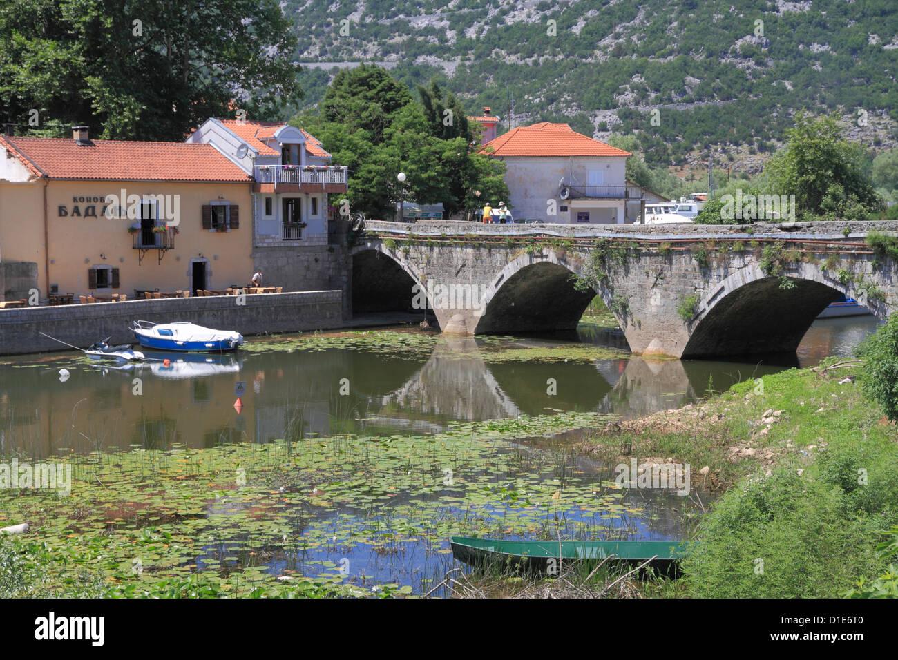 Virpazar, Skadar Lake, Montenegro, Europe Stock Photo