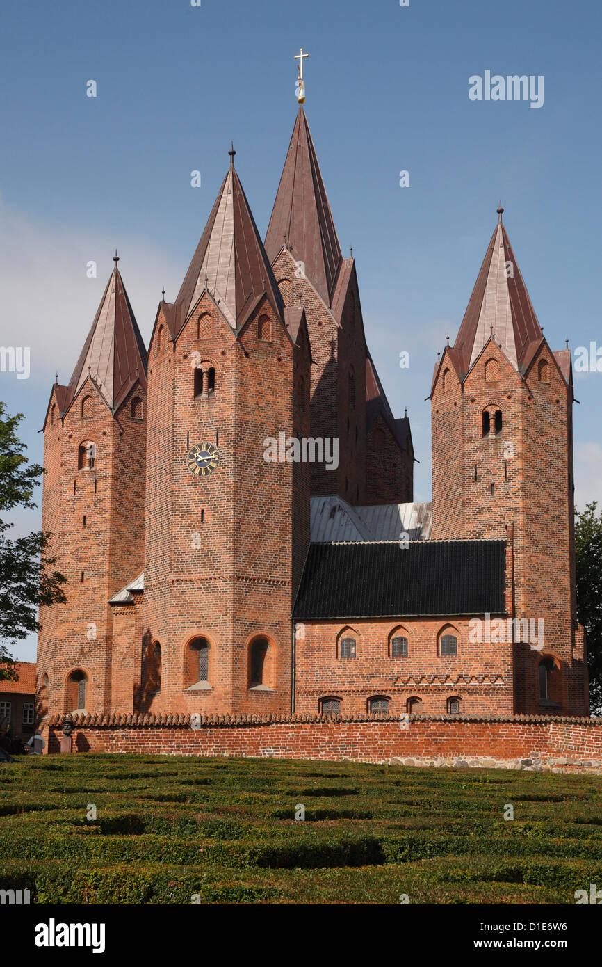 Church of Our Lady, Kalundborg, Sjaelland, Denmark, Scandinavia, Europe - Stock Image