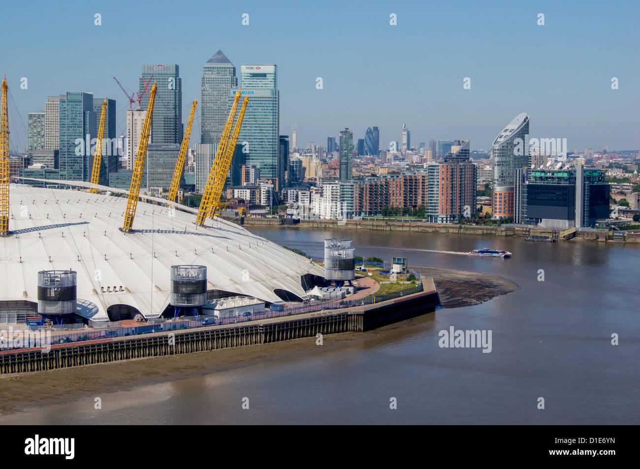 O2 Arena, Greenwich, London, England, United Kingdom, Europe - Stock Image