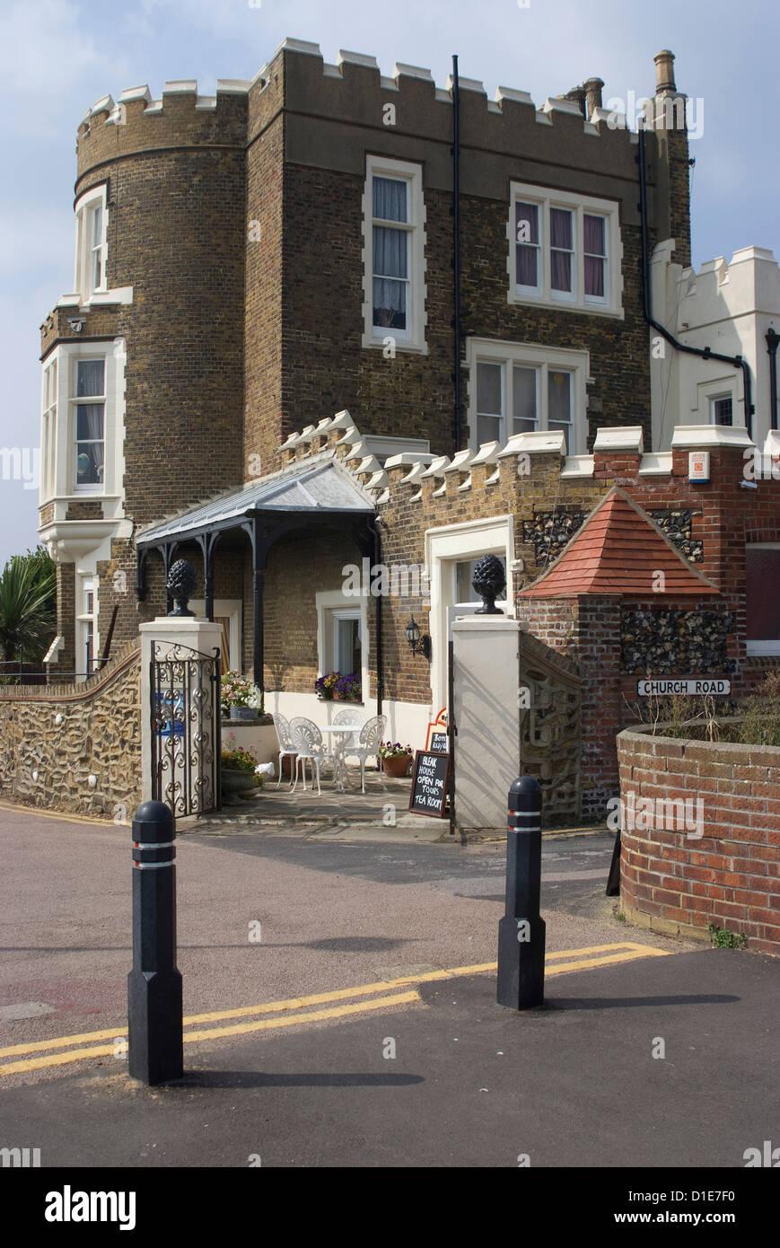Bleak House, Broadstairs, Kent, England, United Kingdom, Europe - Stock Image