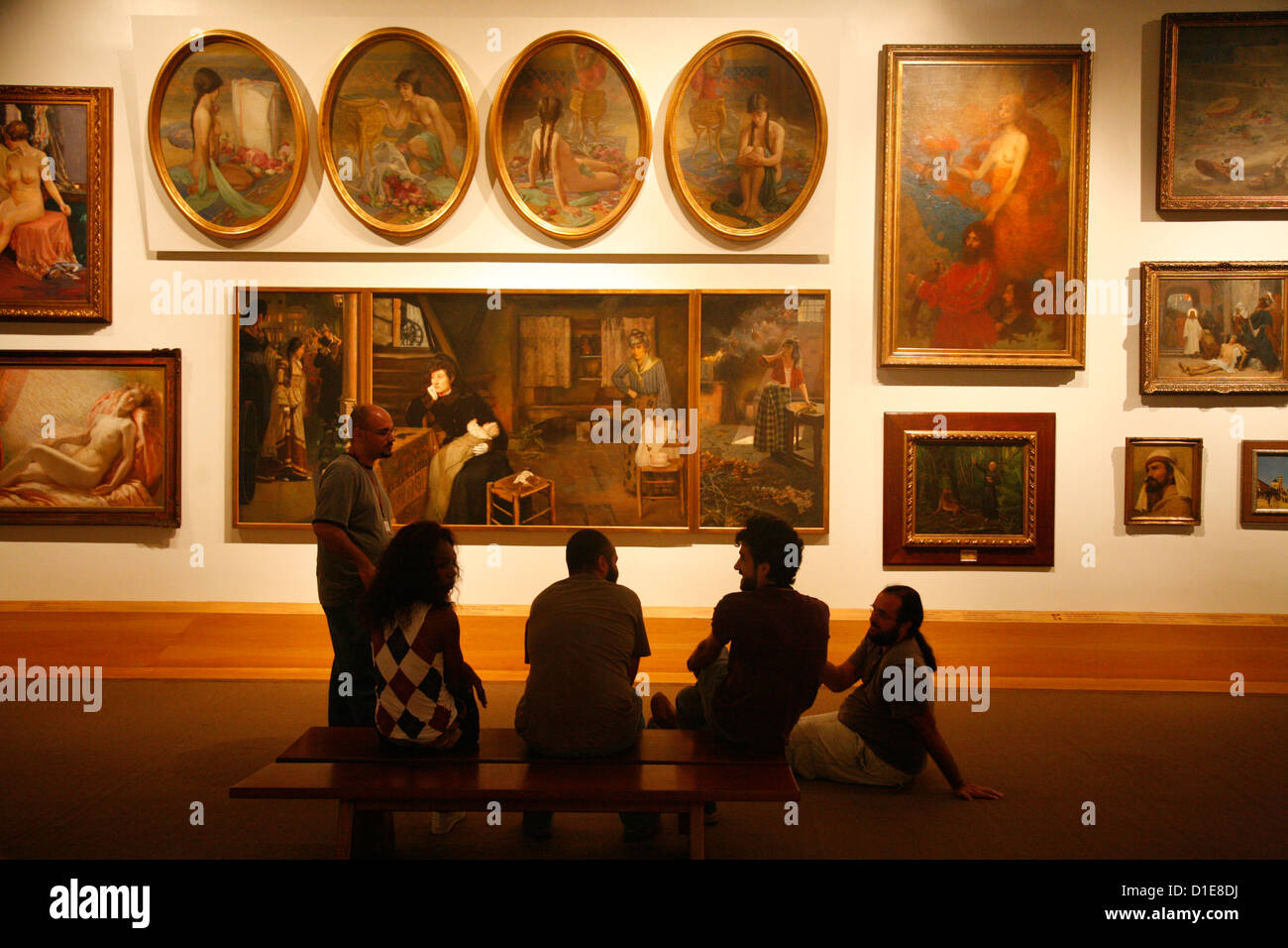 Pinacoteca do Estado (State Art Gallery), Sao Paulo, Brazil, South America - Stock Image
