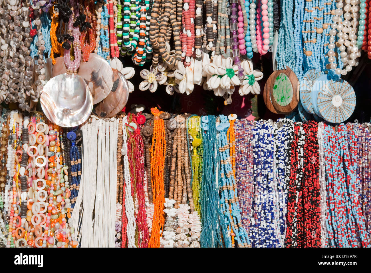 Craft store in Puerta Maya, Cozumel Island, Quintana Roo, Mexico, North America - Stock Image