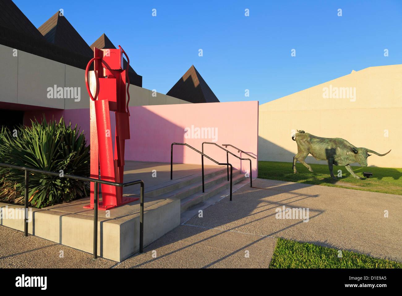 Art Museum of South Texas, Corpus Christi, Texas, United States of America, North America - Stock Image