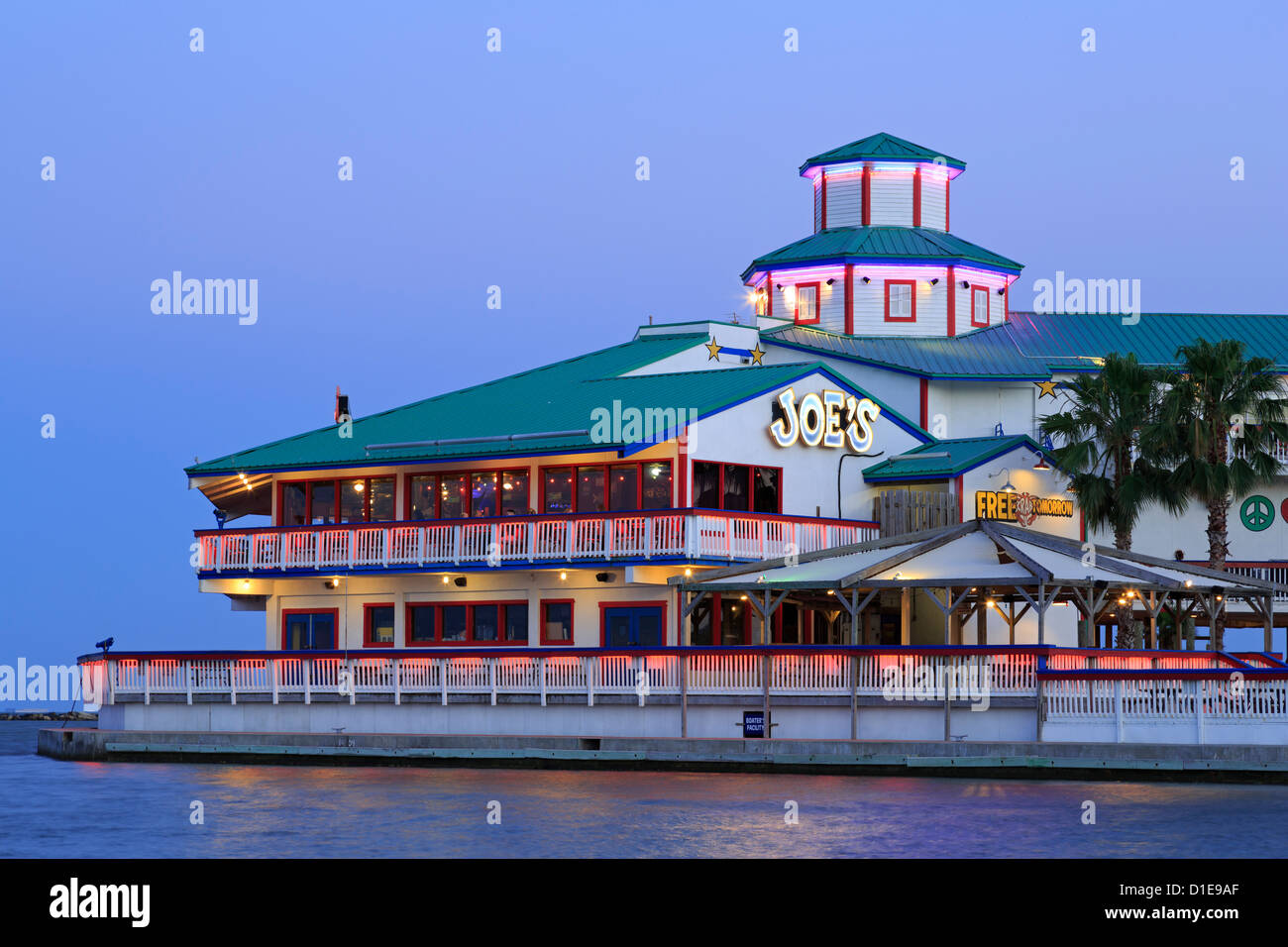 Joe's Crab Shack Restaurant, Corpus Christi, Texas, United States of America, North America - Stock Image