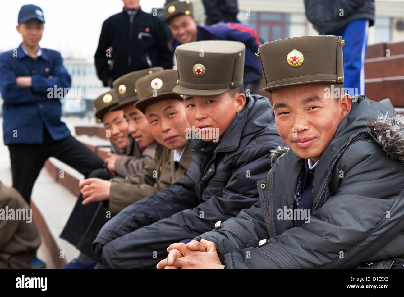 Wonsan City, East Sea of Korea, Democratic People's Republic of Korea (DPRK), North Korea, Asia - Stock Image