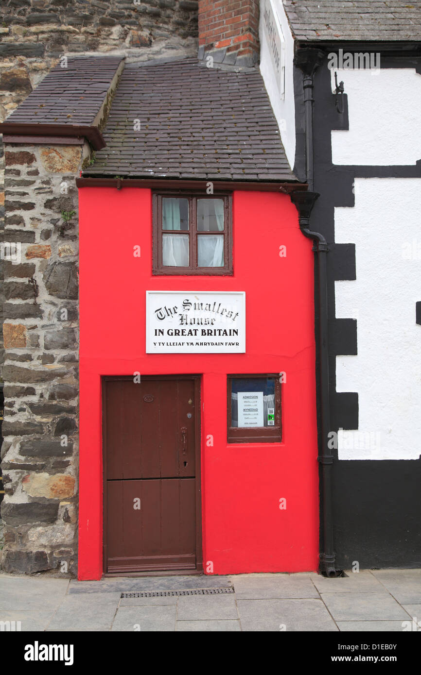 Delightful Smallest House Part - 11: Smallest House In Great Britain, Conwy, North Wales, Wales, United Kingdom,  Europe
