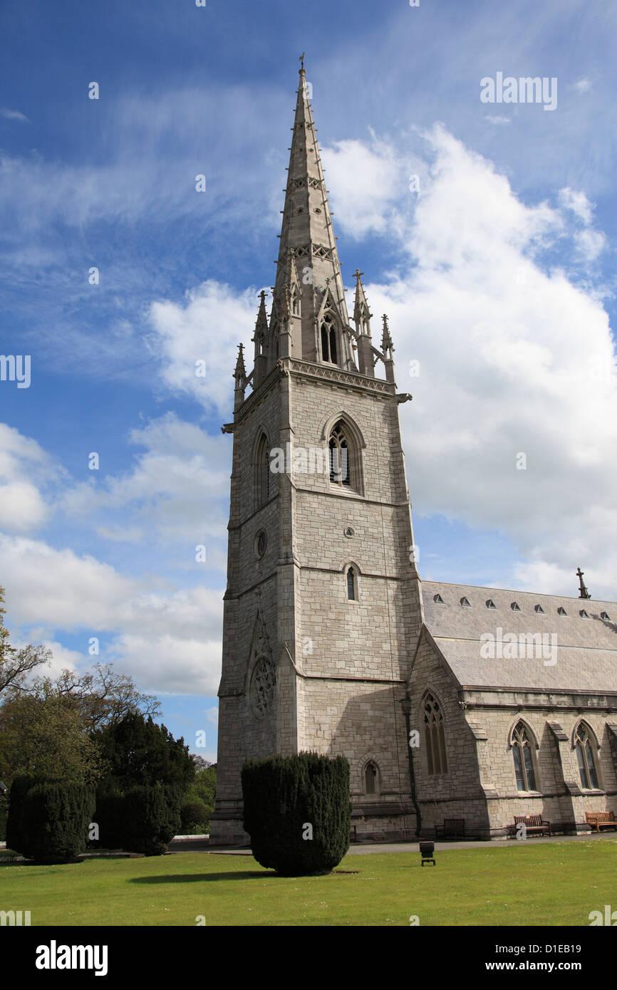 Marble Church (St. Margaret's Church), Bodelwyddan, Vale of Clwyd, Denbighshire, North Wales, Wales, United - Stock Image