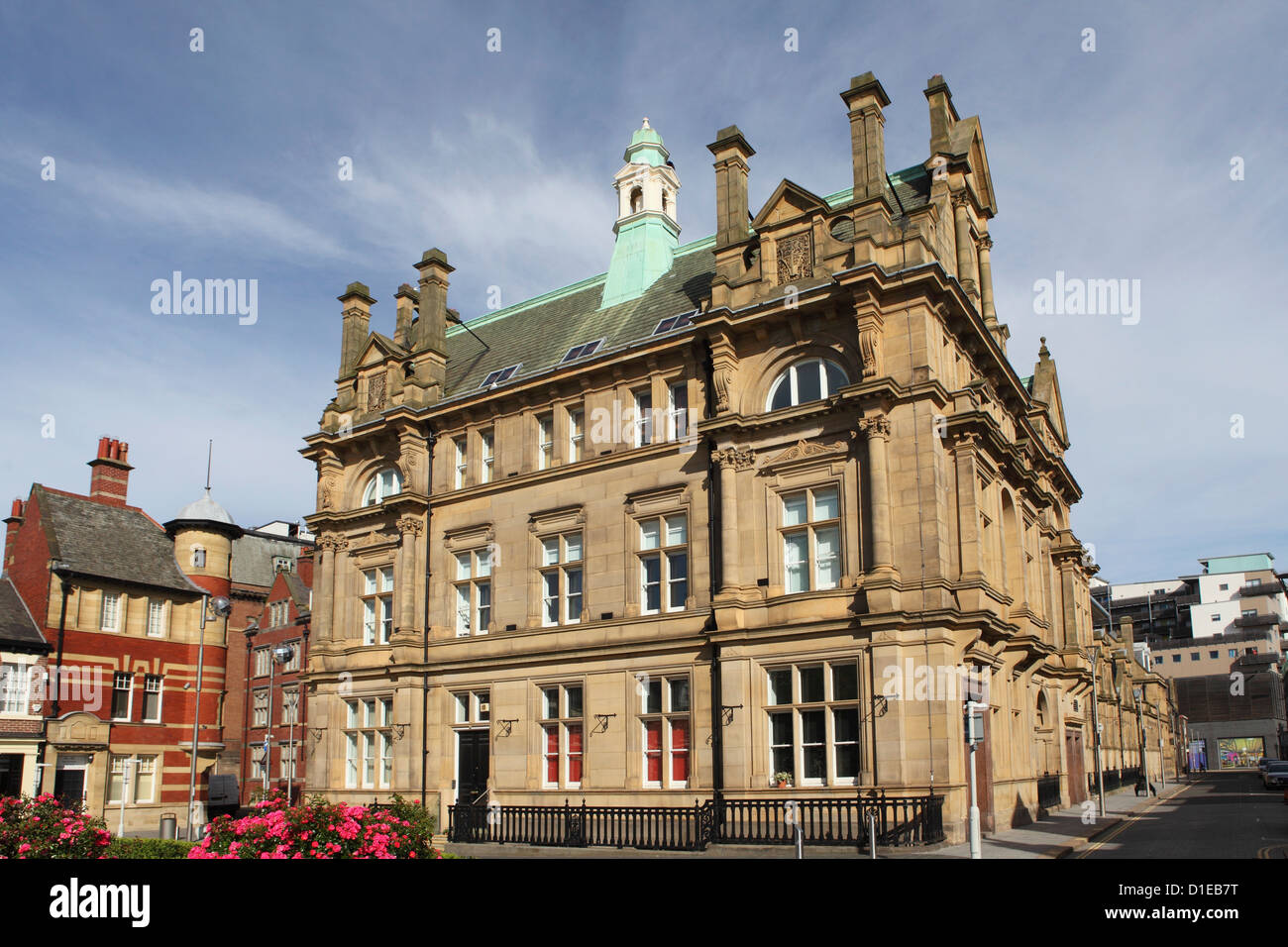 The Edwardian General Post Office, built 1902-03, in Sunderland, Tyne and Wear, England, United Kingdom, Europe - Stock Image