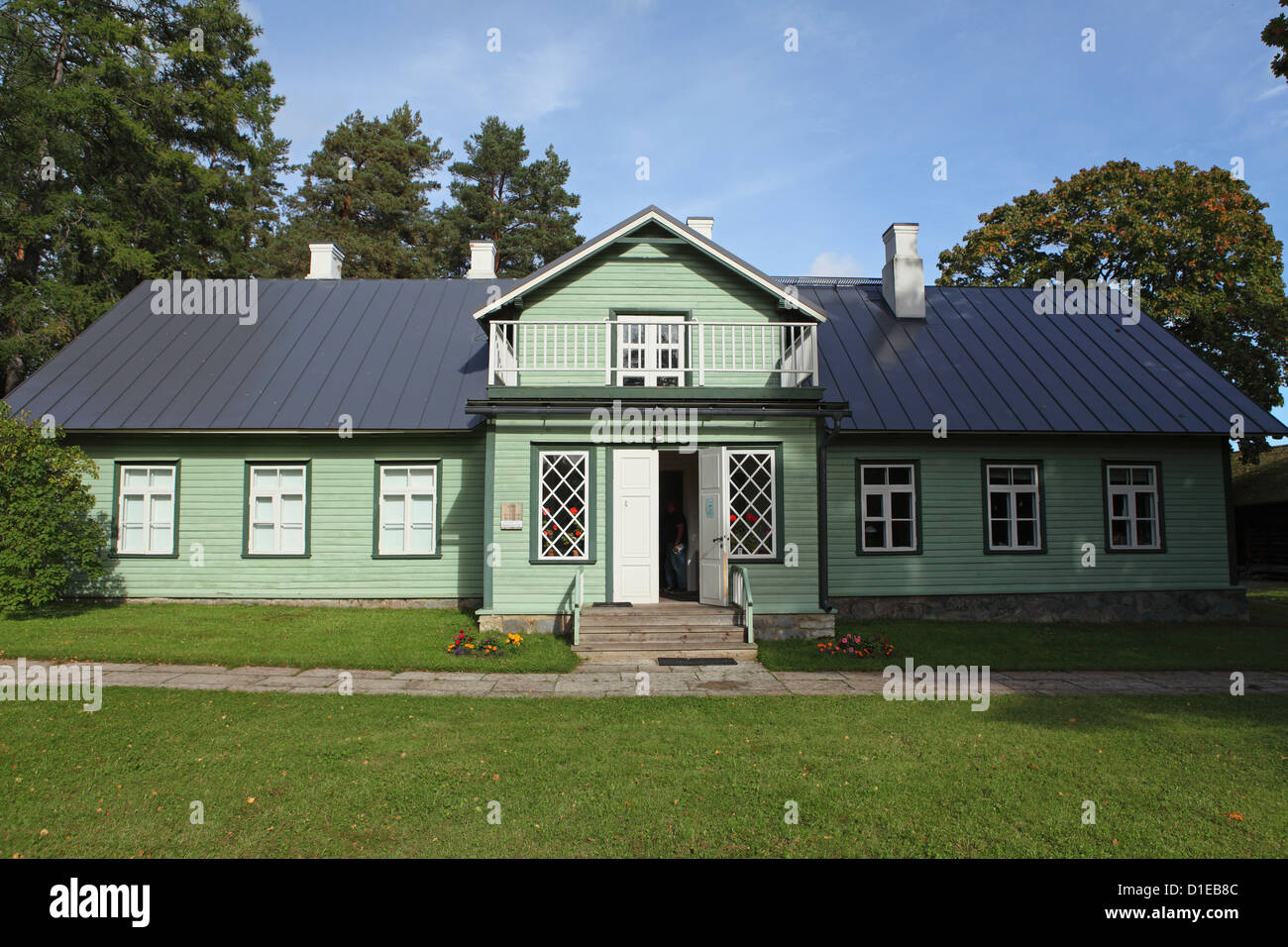 Oandu Nature Centre, operated by Estonia's State Forest Management Centre (RMK), in Lahemaa National Park, Estonia, - Stock Image
