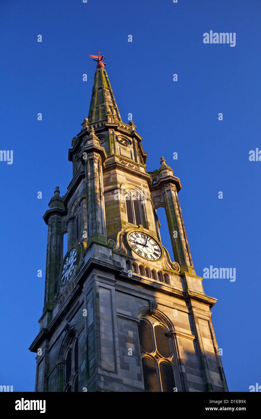 Tron Kirk spire, Royal Mile, Old Town, Edinburgh, Scotland, United Kingdom, Europe - Stock Image